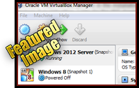 How to Install Windows Server 2012 in VirtualBox