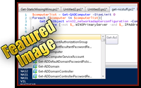 Powershell 3.0 and ISE – Quick Look – Windows 8