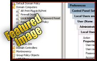 Change Local Administrator Password with Group Policy