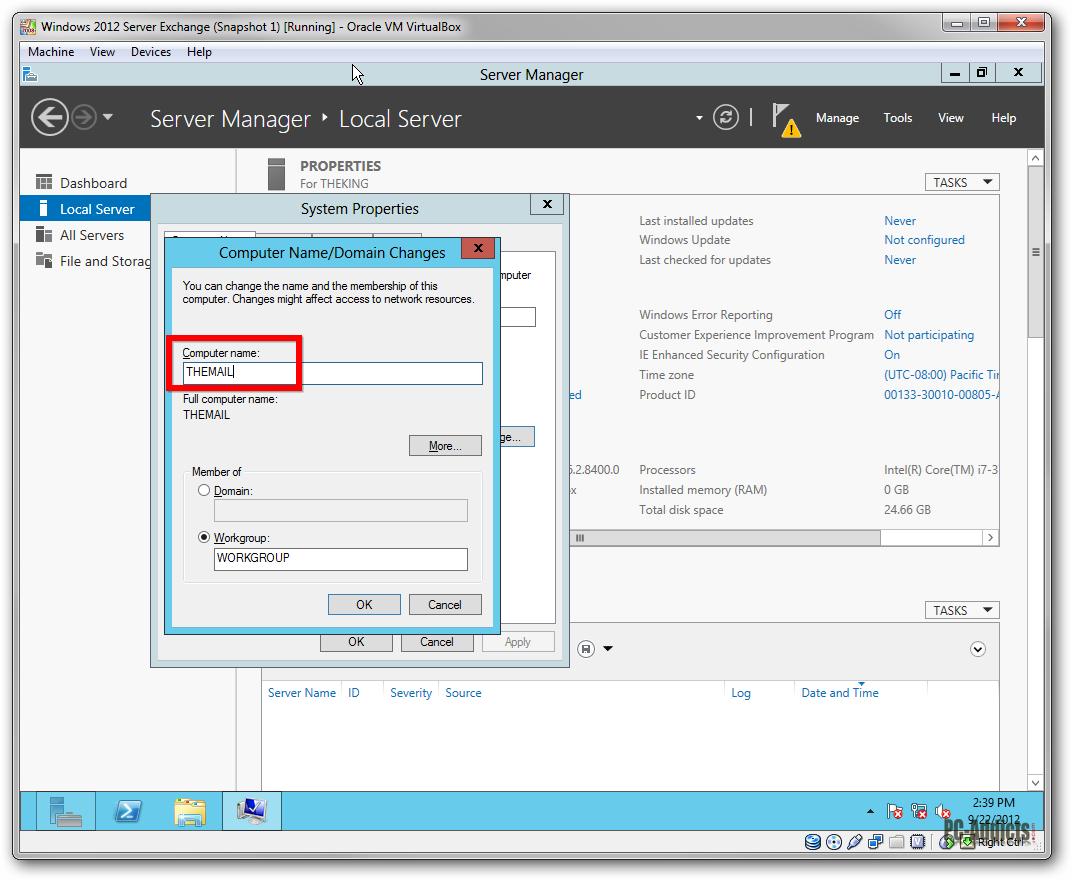 VBox Server 2012 Clone Name Change