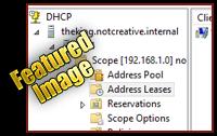 Server 2012 DHCP Server Role