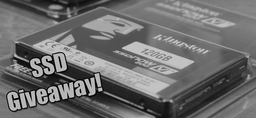 Kingston SSD Giveaway #1
