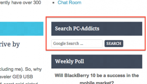 Search PC-Addicts Right Column