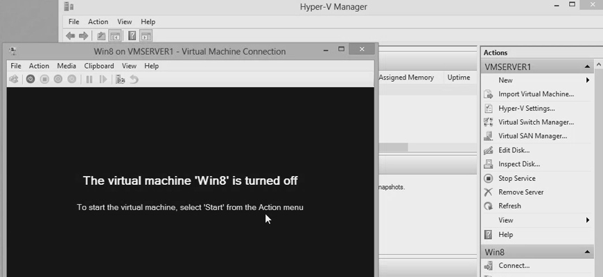 Remotely Manage Hyper-V Server 2012 Core