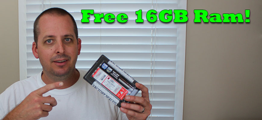 Free 16GB Kingston Ram Giveaway Contest
