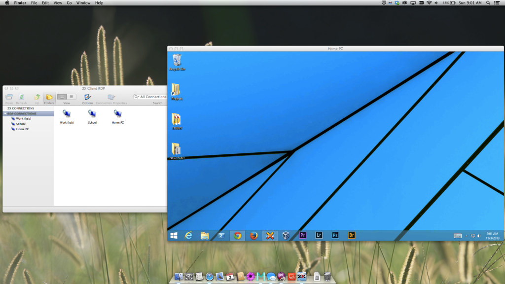 2X Client for RDP/Remote Desktop on Mac OS X Mavericks