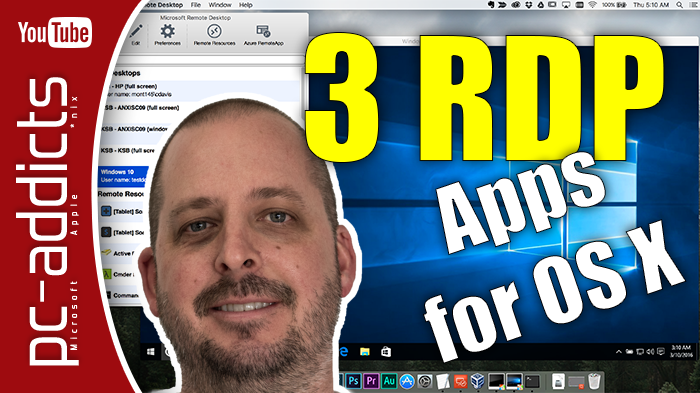 3 Remote Desktop Apps for OS X Mavericks