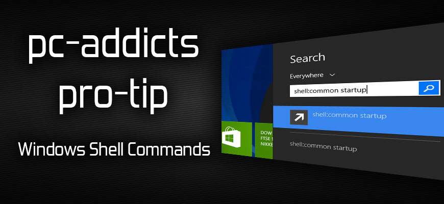 Pro-Tip: Windows Shell Commands