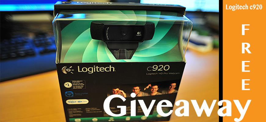 Giveaway – Logitech HD Pro C920 Webcam