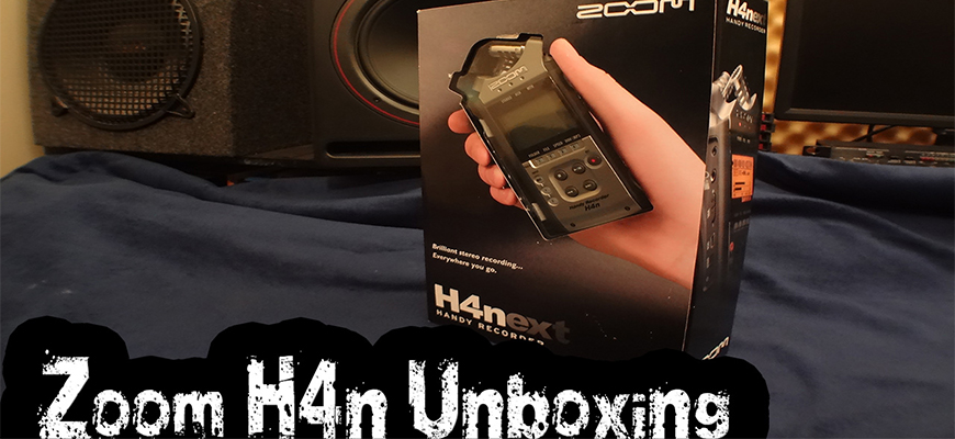 Zoom H4N Handy Recorder Unboxing