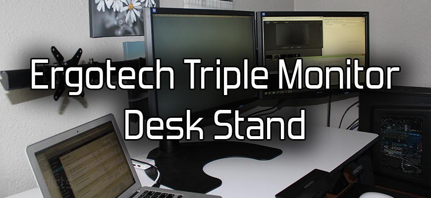Ergotech Triple Monitor Stand