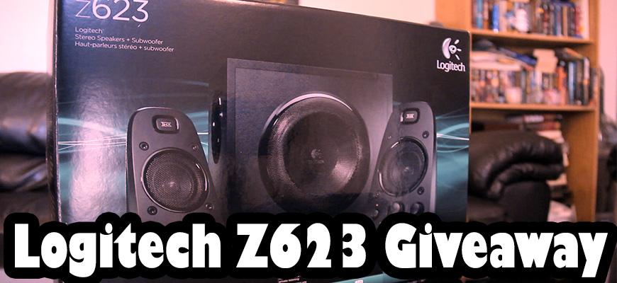 Giveaway – Logitech Z623 Speaker System