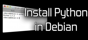 Install_Python_in_Debian