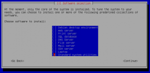 Debian Install Software Select