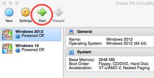 VirtualBox - Start VM - PC-Addicts