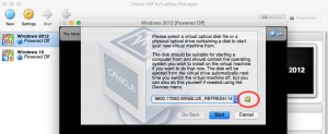 Select Downloaded ISO - VirtualBox - PC-Addicts