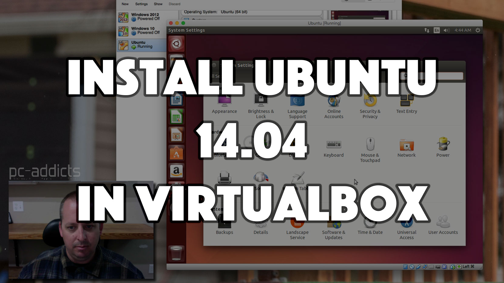 Install Ubuntu 14.04 in Virtualbox