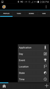 android silent mode at night
