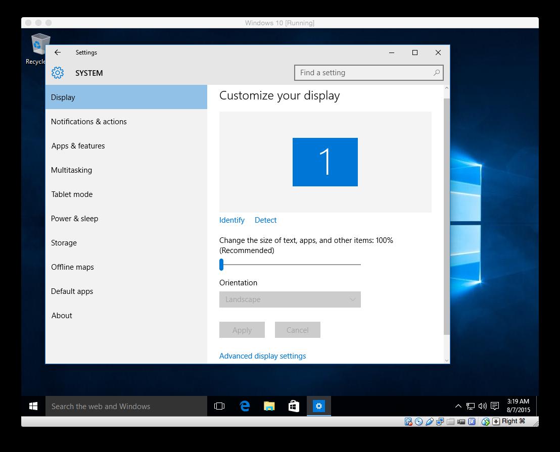 Windows 10 rtm in virtualbox install windows 10 rtm in virtualbox on mac os x ccuart Image collections
