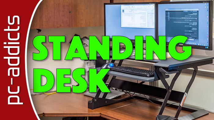 Tabletop Standing Desk – Ergotron Workfit-T