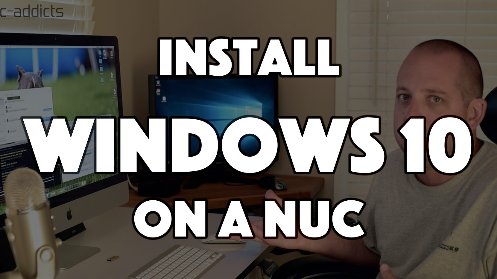 Install Windows 10 on NUC
