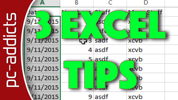 3 Excel Tips to Increase Workflow