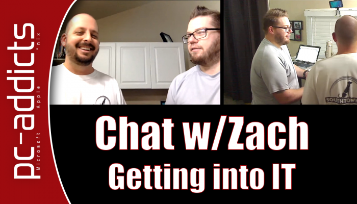 Chat with Zach – Getting Into IT (Information Technology)