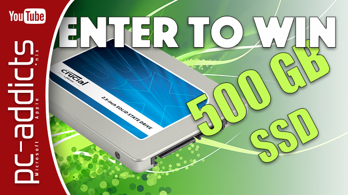 Win a 500GB SSD – Giveaway Contest