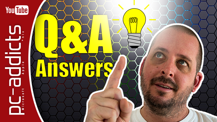 Answer your Tech Questions – Q&A #1