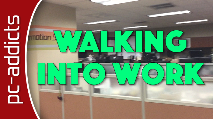 Morning Routine – Walking Into the Office – Vlog